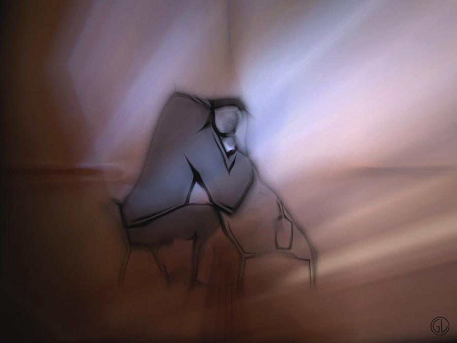 Man Digital Art - Dawn by Gun Legler