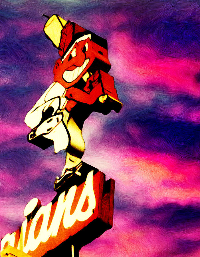 Cleveland Indians Painting - Dawn Of A New Season by Kenneth Krolikowski
