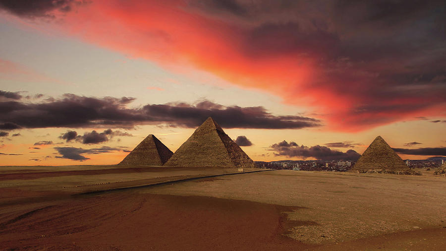 Dawn Of The Pharaohs Photograph by Nick Brundle Photography