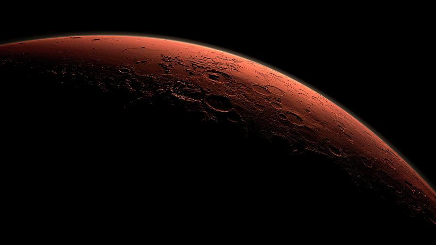 Mars Photograph - Dawn On Mars by Nasa/jpl-caltech/science Photo Library
