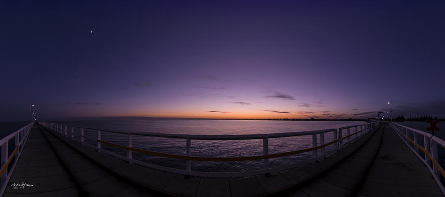 Sunrise Photograph - Dawn On The Jetty by Andrew Dickman