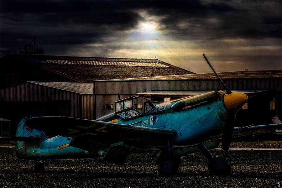 Messerschmitt Photograph - Dawn Raider by Chris Lord
