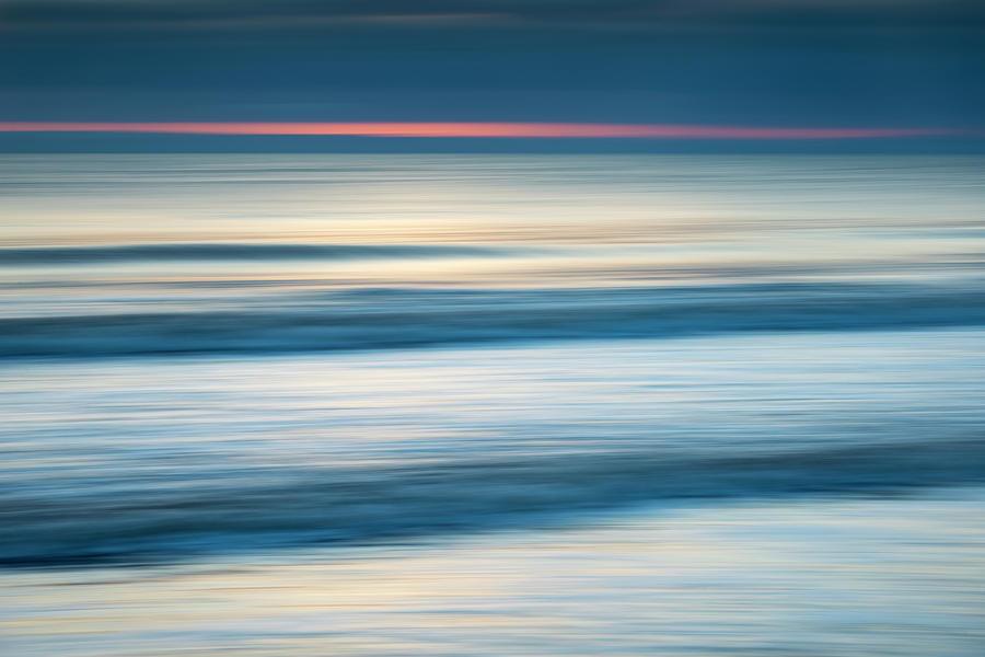 Dawn Seascape Abstract Photograph by Photos By R A Kearton