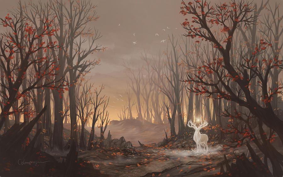 Dawn Spirit by Cassiopeia Art