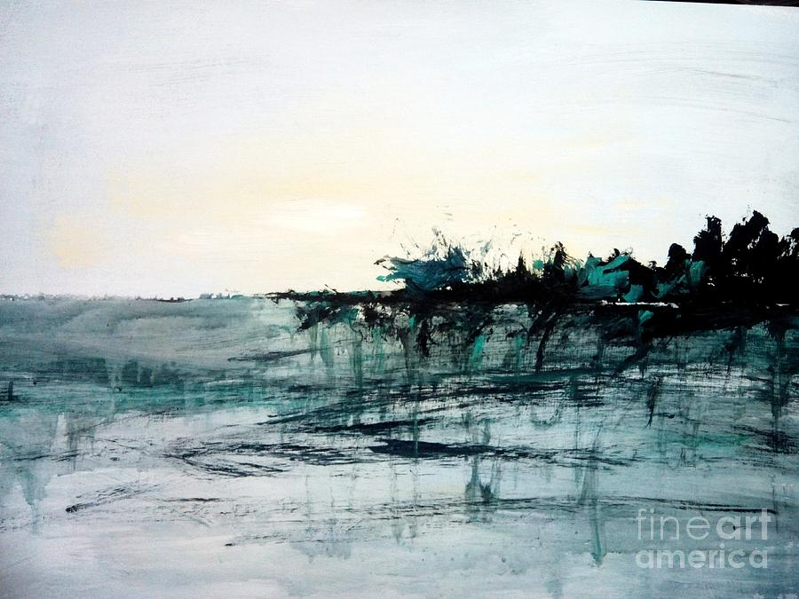Dawn Painting - Dawn  by Trilby Cole