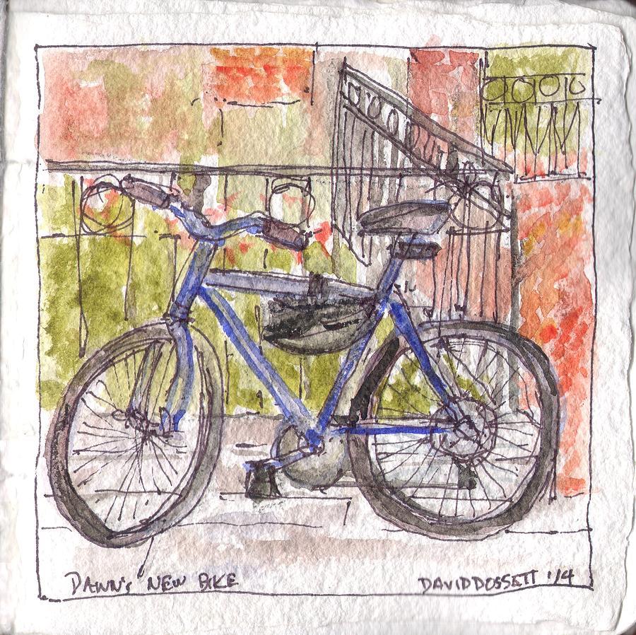 Dawn's New Bike by David Dossett