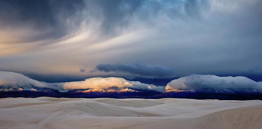 White Photograph - Day Break At White Sand by John Fan