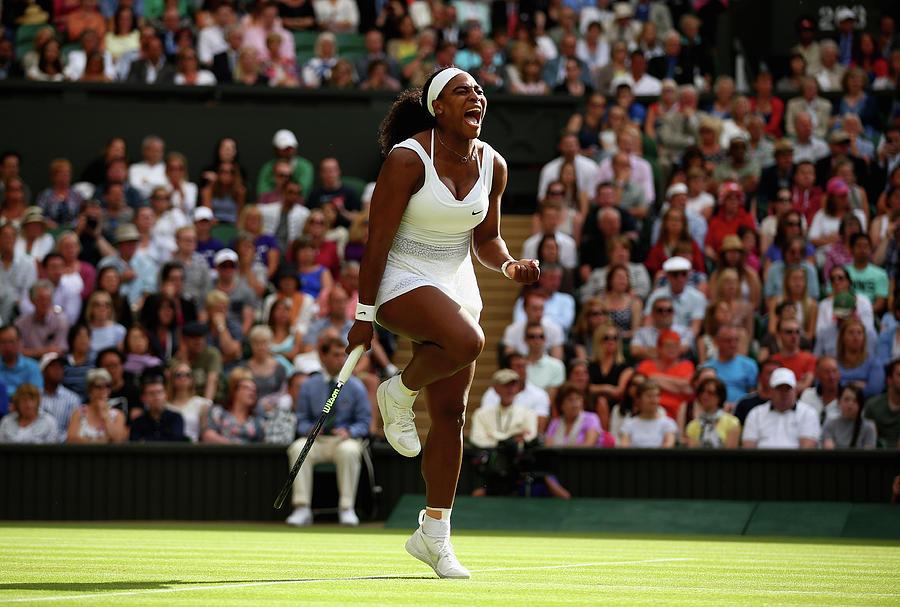 Day Eight The Championships - Wimbledon Photograph by Ian Walton
