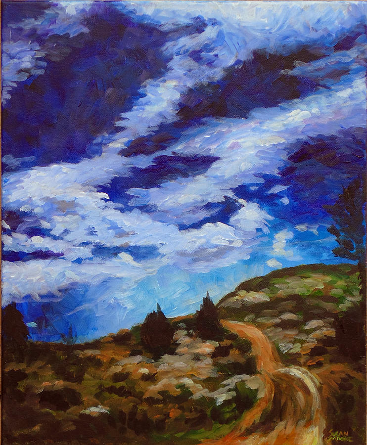 Landscape Painting - Day Hike by Susan Moore