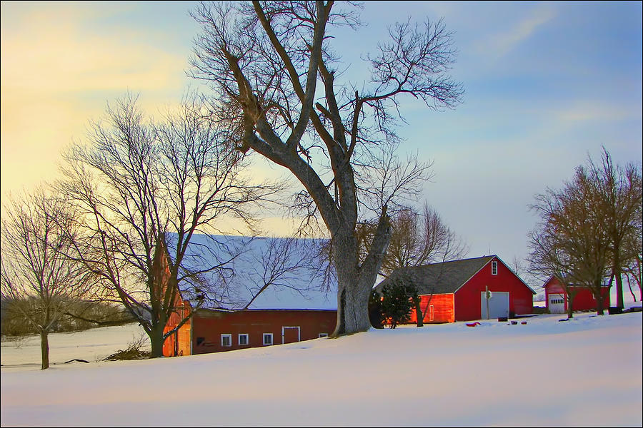Barns Photograph - Day Is Done by Nikolyn McDonald