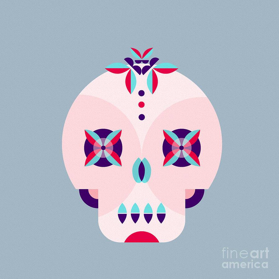De Digital Art - Day Of The Dead Poster by Derenskaya