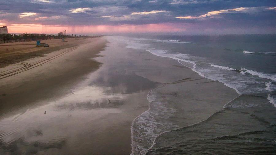 Beach Photograph - Daybreak by Tammy Espino