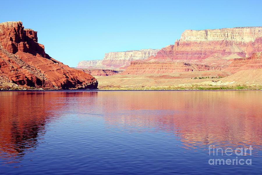 Vermillion Cliffs Photograph - Daybreak - Vermillion Cliffs And Colorado River by Douglas Taylor