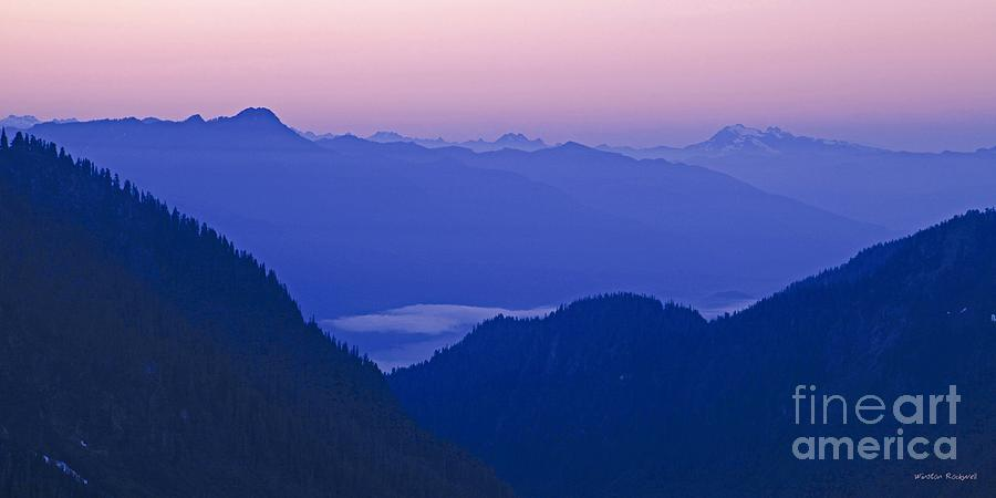 Mountain Photograph - Daybreak by Winston Rockwell