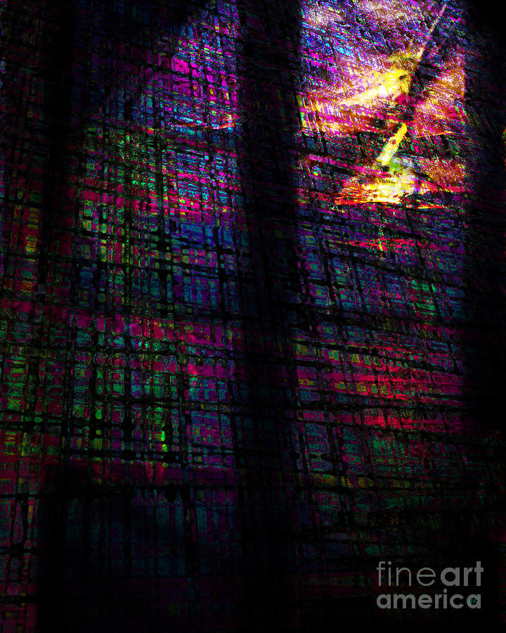 Abstract Digital Art - Daydream by Gerlinde Keating - Galleria GK Keating Associates Inc