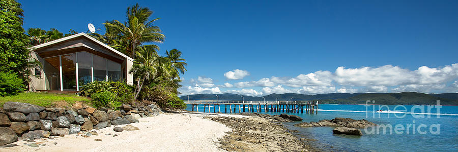 Daydream Island Photograph - Daydream Island Pano by Shannon Rogers
