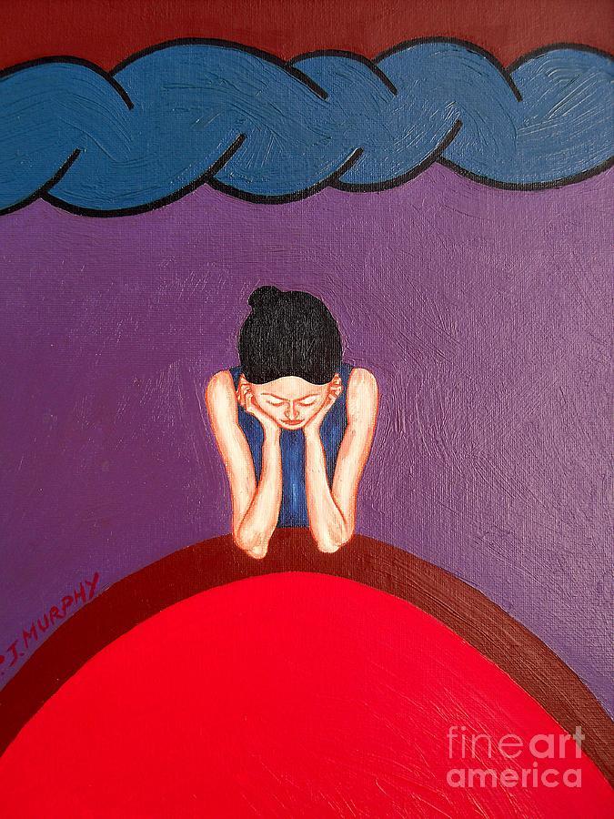 Valentine Painting - Daydreamer by Patrick J Murphy