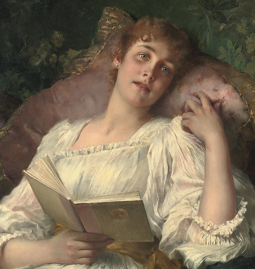 Daydreaming Painting - Daydreaming by Conrad Kiesel