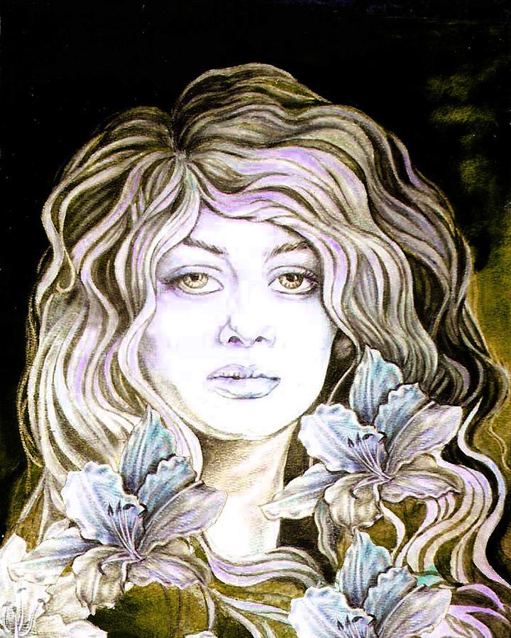 Daylily 2 Digital Art by Diana Shively