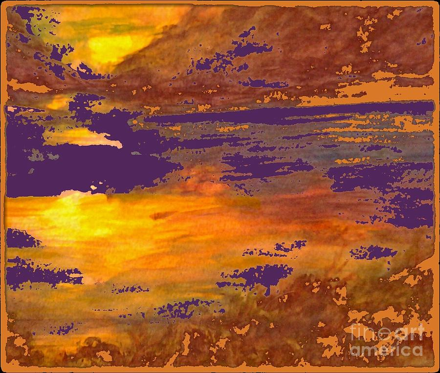 Watercolor Painting Painting - Days End by Cindy McClung
