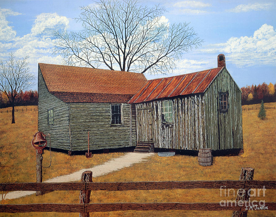 Pisgah National Forest Painting - Days Gone By by Jeff McJunkin