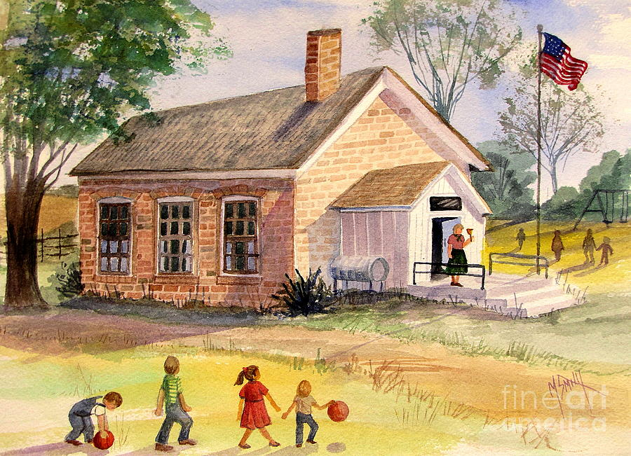 House Painting Norman Rockwell