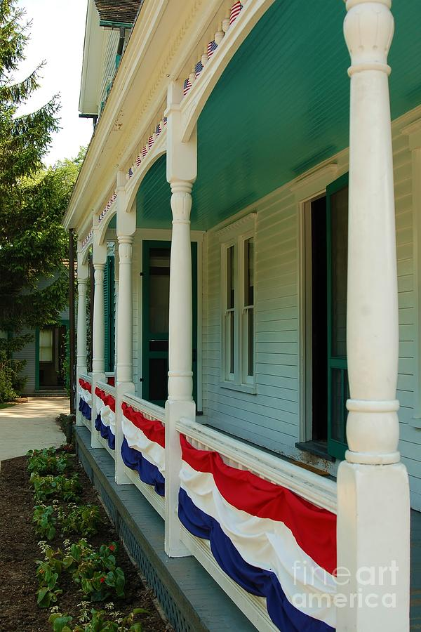 Front Porch Photograph - Days Gone By by Patrick Shupert