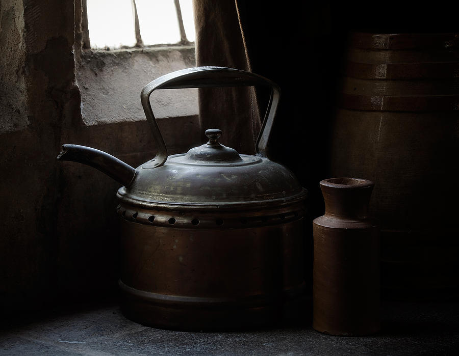 Kettle Photograph - Days Of Old by Amy Weiss