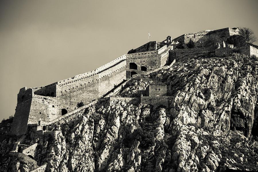 Nafplio Photograph - Daytime Palamidi Fortress  by David Waldo