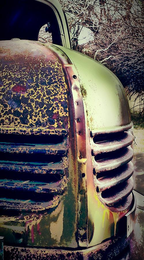 Vintage Automobile Photograph - Dayton Truck by Gail Lawnicki