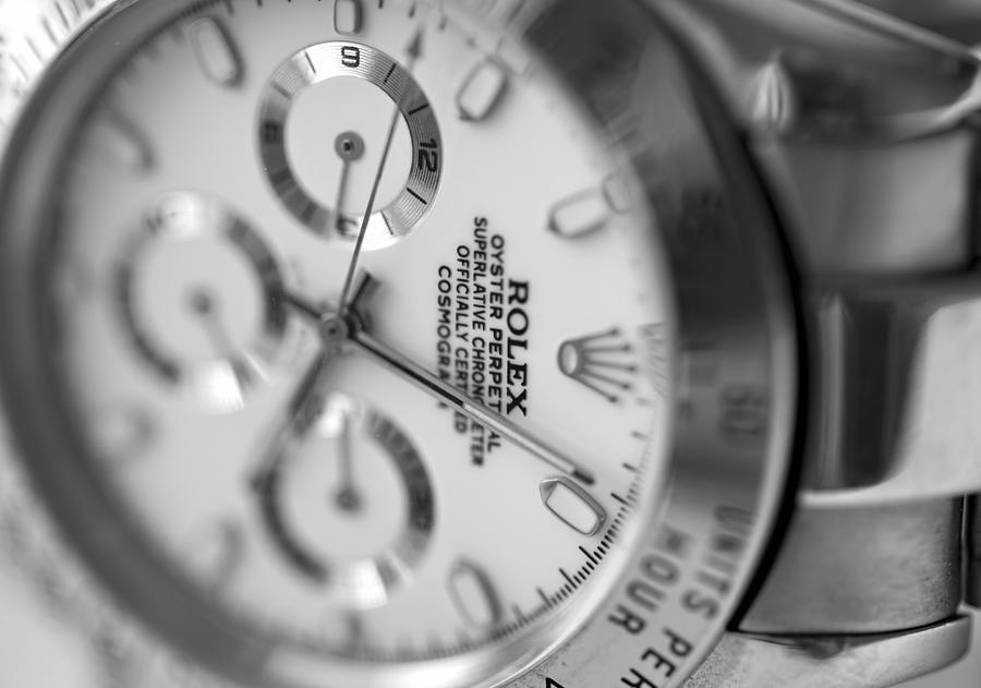 Rolex Photograph - Daytona by Ricky Barnard