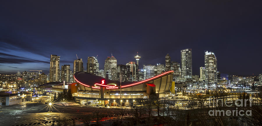Calgary Photograph - Dazzled By The Light by Evelina Kremsdorf