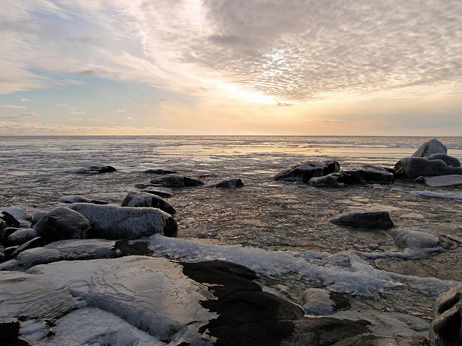 Dazzling Winter On Lake Superior Photograph