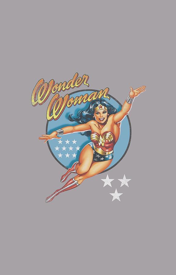 Dco - Wonder Woman Vintage Digital Art by Brand A