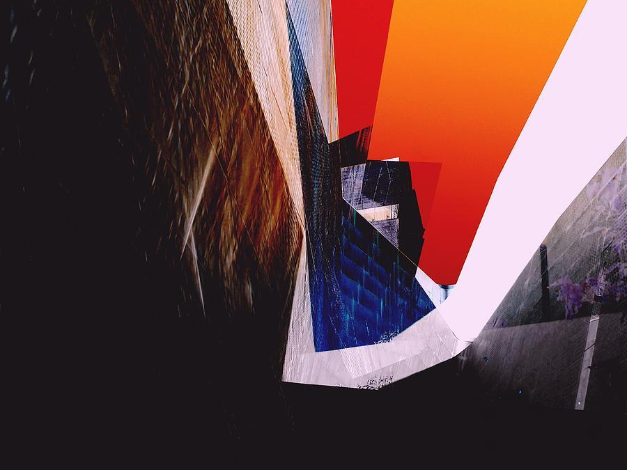De Young Photograph - De Young Museum Meta by Michael Hope
