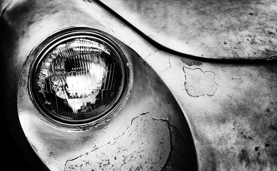 Car Photograph - Dead Alfa R. by J?rgen Hartlieb