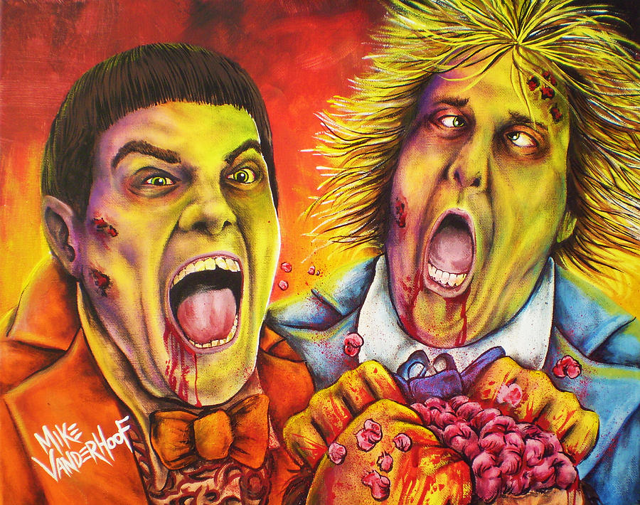 Dead And Deader By Mike Vanderhoof Painting By Michael