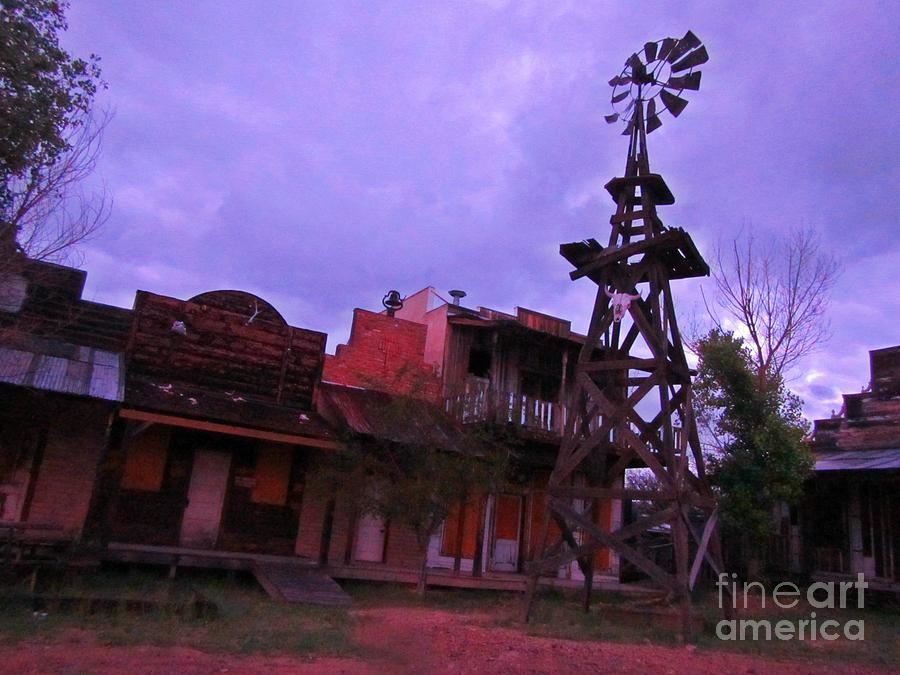 Dead Ghost Town Photograph