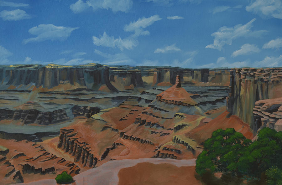 Dead Painting - Dead Horse Point by Nick Froyd