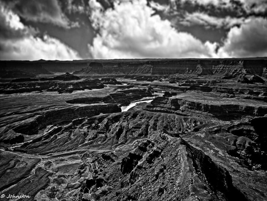 Arizona Photograph - Dead Horse Point Utah by Bob and Nadine Johnston
