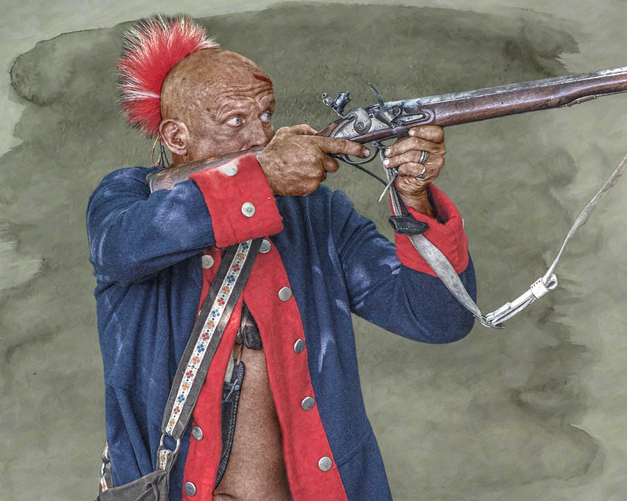 Warrior Digital Art - Deadly Accurate  by Randy Steele