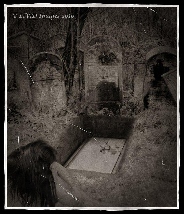 Emotive Photograph - Death Becomes Her by Kristie  Bonnewell
