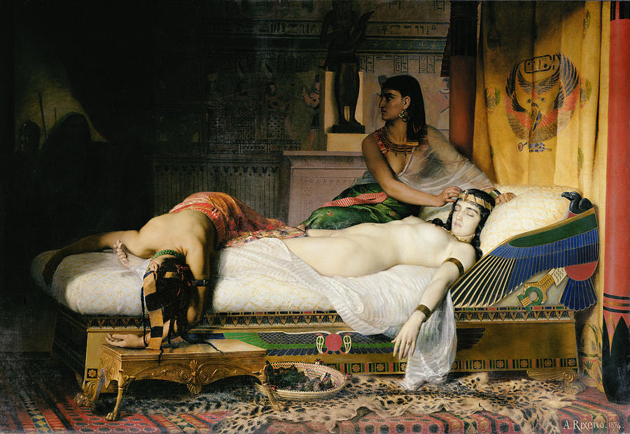 Egyptian Photograph - Death Of Cleopatra by Jean-Andre Rixens