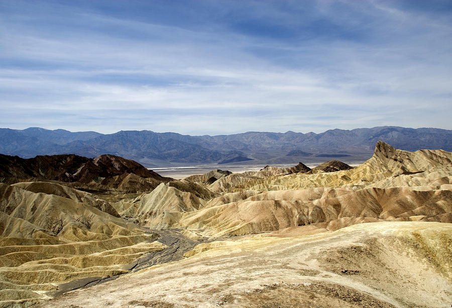 Blue Photograph - Death Valley by Jessica Wakefield