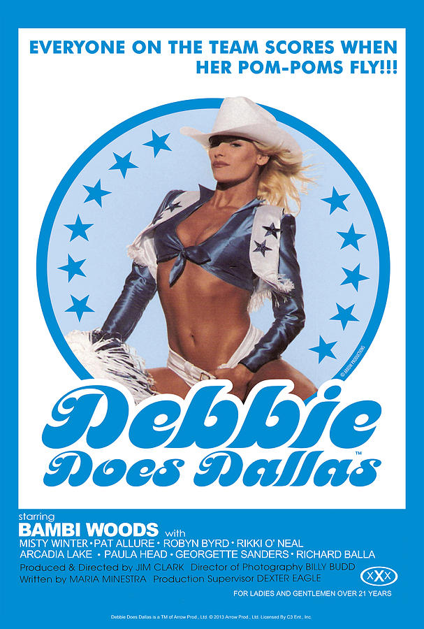 Erotic Digital Art Debbie Does Dallas By Arrow Productions