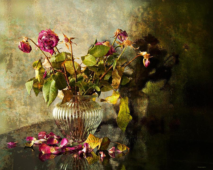 Vintage Photograph - Decadence 1 by Theresa Tahara