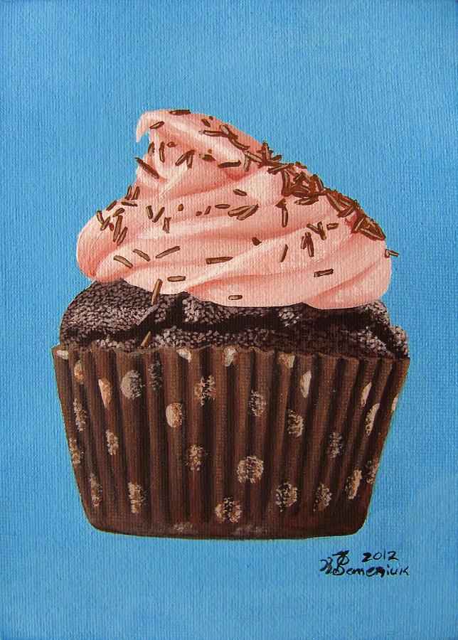 Chocolate Painting - Decadence by Kayleigh Semeniuk