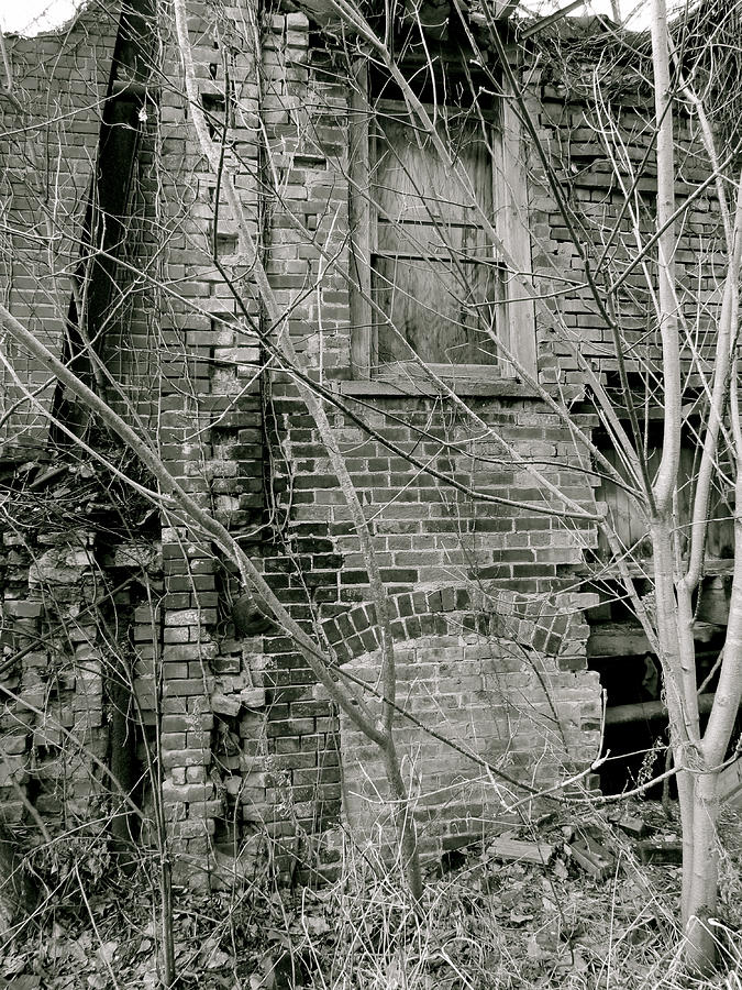 Architecture Photograph - Decay by Azthet Photography