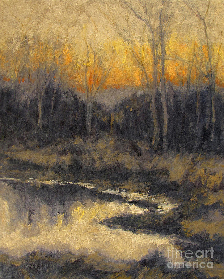 December Reflection Painting - December Reflection by Gregory Arnett