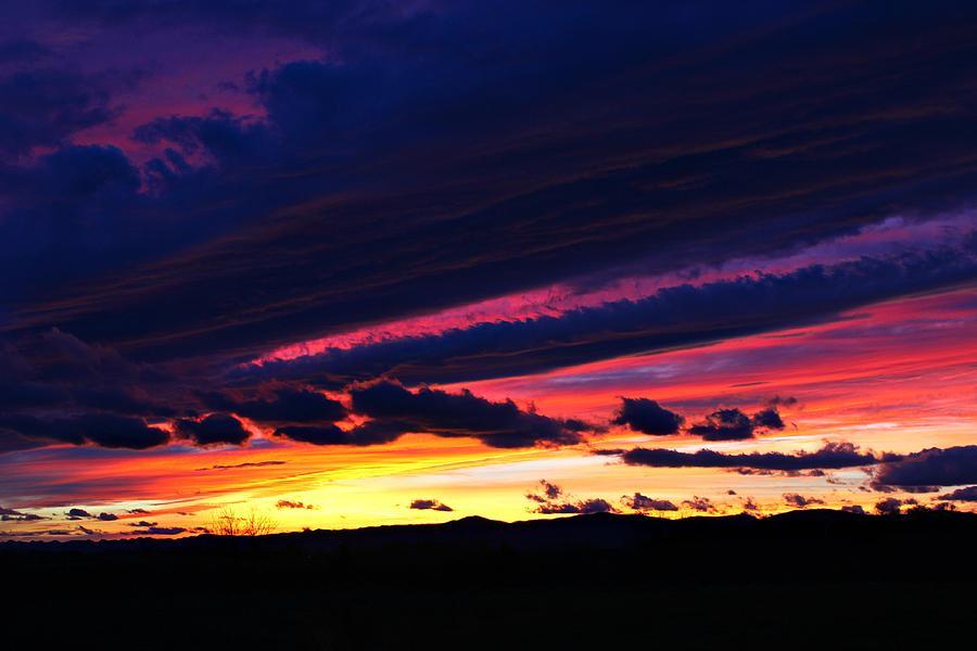 Sunset Photograph - December Sunset by Candice Trimble